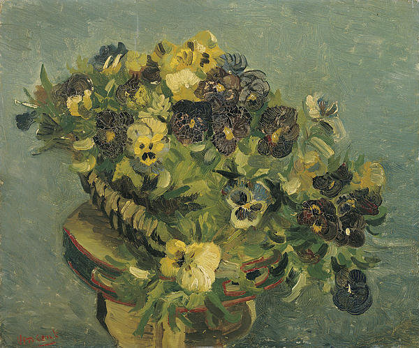 1-basket-of-pansies-on-a-small-table-vincent-van-gogh