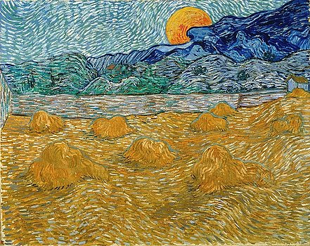 1-evening-landscape-with-rising-moon-vincent-van-gogh