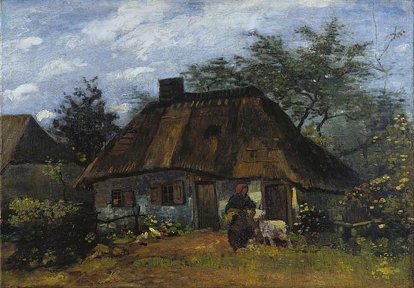 1-farmhouse-in-nuenen-vincent-van-gogh