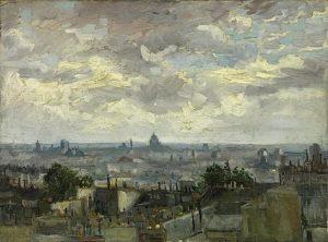 1-view-of-paris-vincent-van-gogh