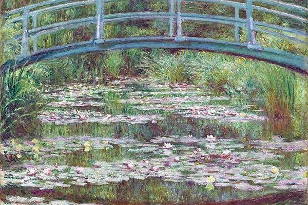The Japanese Footbridge Print