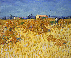 3-corn-harvest-in-provence-vincent-van-gogh