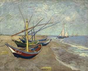 3-fishing-boats-on-the-beach-vincent-van-gogh