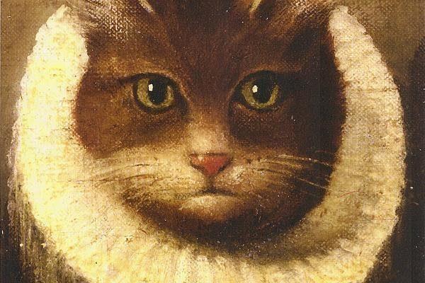 Cat In A Ruff Print