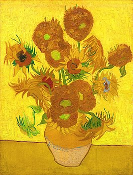 fifteen-sunflowers-in-a-vase-vincent-van-gogh