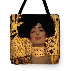 Gustav Klimt Judith And The Head Of Holofernes Tote Bag