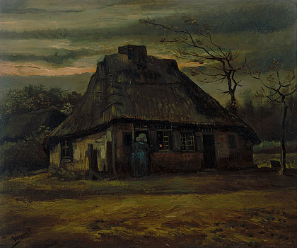 the-cottage-vincent-van-gogh