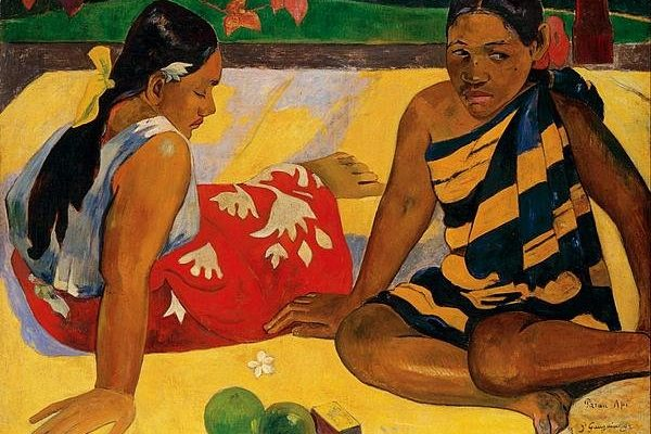 Two Women Of Tahiti
