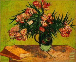 vase-with-oleanders-and-books-vincent-van-gogh