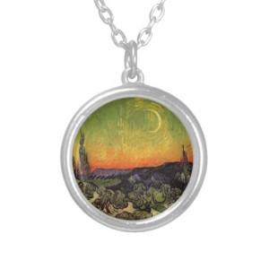 Moonlit Landscape Jewelry